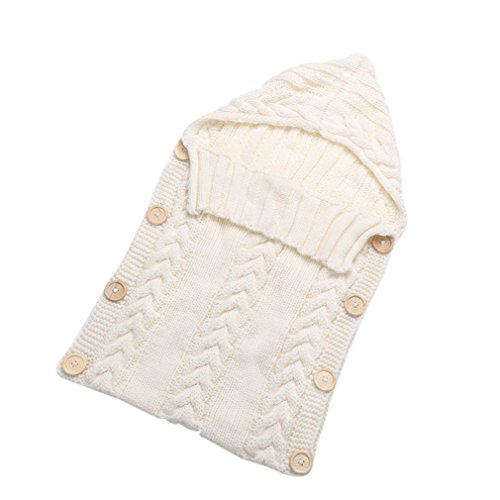Baby Blanket Cover Summer Baby Bath Towel Swaddle Wrap Soft Cotton Blanket White