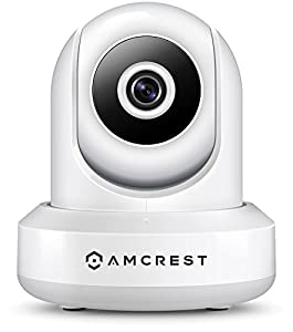 Amcrest ProHD 1080P POE (Power Over Ethernet) IP Camera with Pan/Tilt, Two-Way Audio, Optional Cloud Recording, Full HD (1920TVL) @ 30FPS, Wide 90° Viewing Angle and Night Vision IP2M-841E