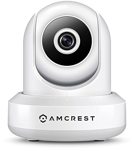 Amcrest ProHD 1080P POE (Power Over Ethernet) IP Camera with Pan/Tilt, Two-Way Audio, Optional Cloud Recording,...
