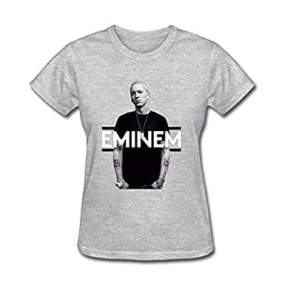 OMMIIY Women's Cool Eminem T-Shirt