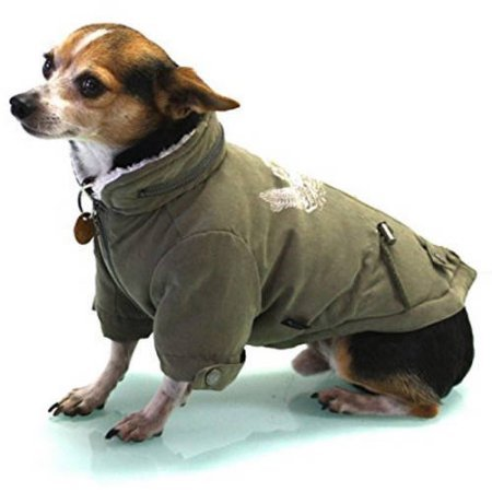 Alpha Dog Series Army Jumper by Alpha Dog Series