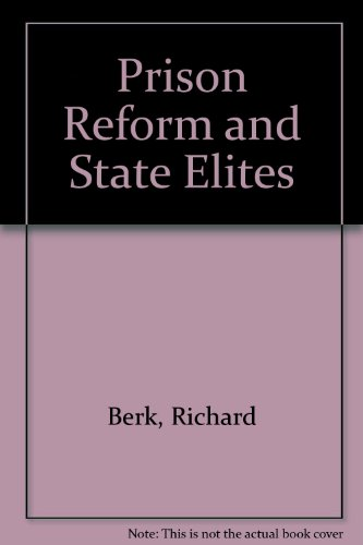 Download Prison Reform And State Elites Book Pdf Audio Id H8xs907