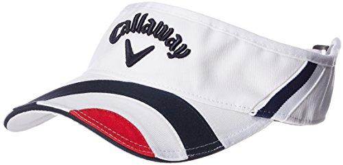 (キャロウェイ) Callaway 起毛ツイル バイザー (サイズ調整可能) 帽子 ゴルフ/241-7284500 < メンズ >