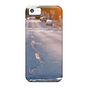 New Style 5c Protective Cases Covers/ Iphone Cases - The Sun Drenched Road