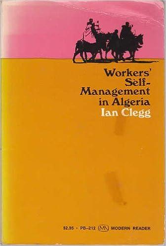 """Résultat de recherche d'images pour """"Workers self management in Algeria - Ian Clegg"""""""
