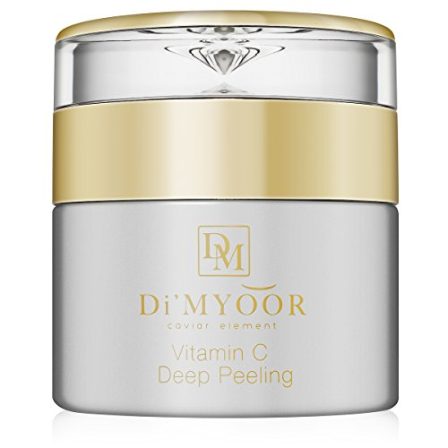 D'iMYOOR Vitamin C Deep Peeling Gel with Caviar Extract Professionally Formulated Facial Exfoliator Removes Dirt, Makeup and Dead Skin Cells from Face