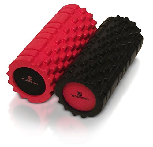 WODFitters Muscle Foam Roller for Trigger Point Massage and Recovery