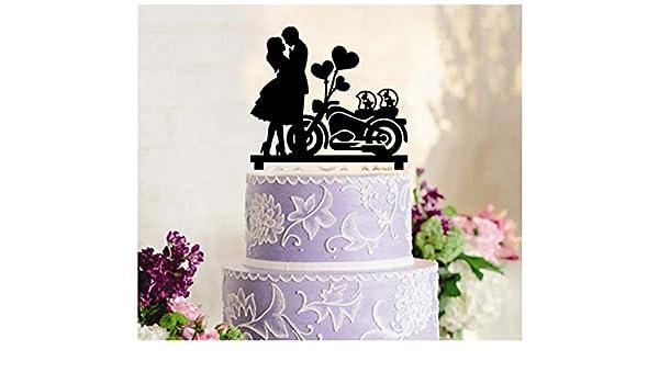 Decoración para tarta de boda, decoración para cupcakes, pareja ...