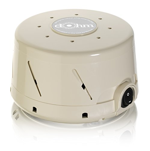 Marpac Dohm-SS Single Speed All-Natural White Noise Sound Machine, Actual Fan Inside, Tan (Marpac Dohm Ds Dual Speed Sound Conditioner)