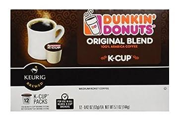 Dunkin Donuts KCups Keurig Coffee Brewers Original 24 Count