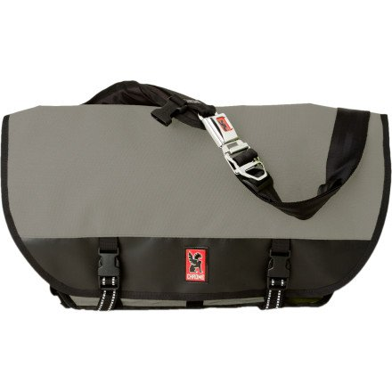 Chrome Citizen Messenger Bag Grey/Black, One Size