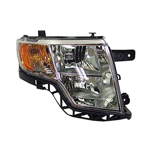 New Replacement Head Lamp Assembly Passenger Fits 2007-2010 Ford Edge 09-10 w/o Sport OEM Quality