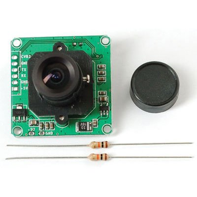 TTL Serial Camera With NTSC Video - Jpeg Camera Module