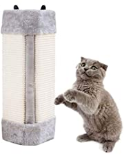 Pampurr Cat Scratcher Cat Scratching Board Pad Hanging Scratcher Cat Wall Mounted Scratching Post/Wall Corner Foldable Pet Sisal Scratcher