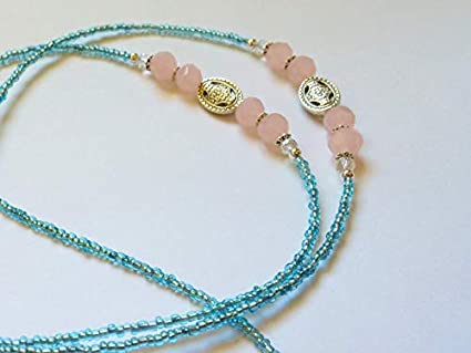 Amazon com : baken Cotton Candy-Blue and Light Pink Teacher Lanyard