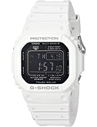 Casio Men's 'G-Shock' Quartz Resin Casual Watch, Color:White (Model: GW-M5610MD-7CR)