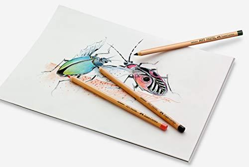 Faber-Castell Pitt Pencil, Pastel, Orange Glaze 113, Single