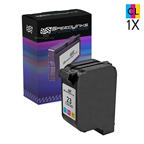 (Speedy Inks Remanufactured Ink Cartridge Replacement for HP 23 (Tri-Color))