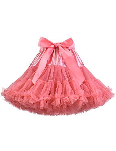 Baby Girl's Fluffy Tutu Skirt Toddler Tulle Birthday