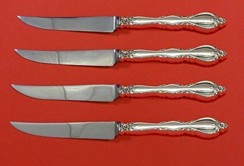 Grande Regency by International Sterling Silver Steak Knife Set 4pc HHWS Custom