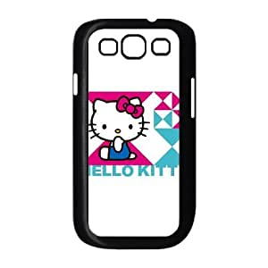 Hello Kitty Triangle Samsung Galaxy S3 9300 Cell Phone Case Black DIY GIFT pp001_8146910