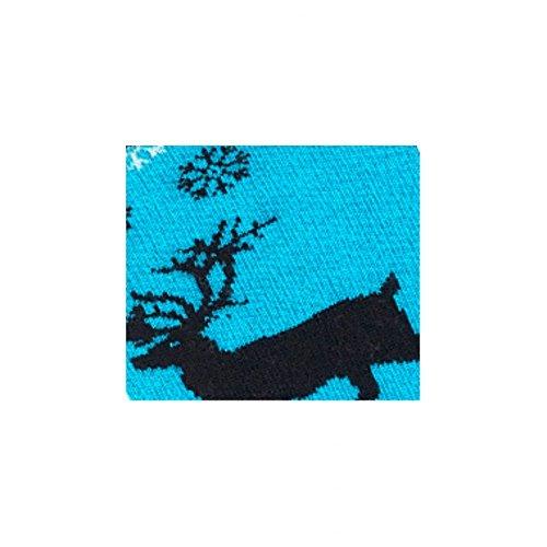 Mi Bleu Turquoise chaussettes Modèle Coton Et Laine Achile En Reideer TZwHZqd