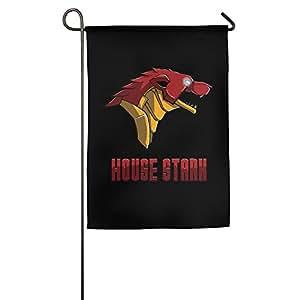 Casa Stark Funny House bandera bandera de Jardín