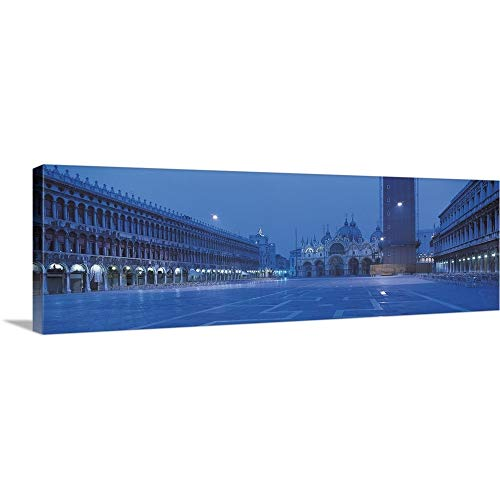 GREATBIGCANVAS Gallery-Wrapped Canvas Entitled San Marco Square Venice Italy by - Italy San Venice Marco Square