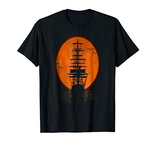 (Pirate Ship Tee Shirt)