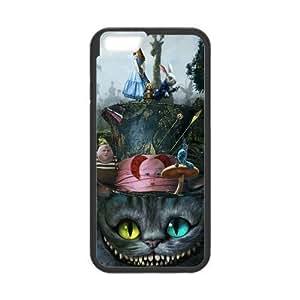 LJF phone case Sunbeam DIY Cute Alice in Wonderland Custom Case Cover For iphone 4/4s(Laser Technology)