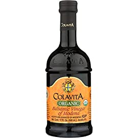 Colavita Balsamic Vinegar, 5-Ounce Bottles (Pack of 16) 6 Special 5oz bottle Colavita Balsamic Vinegar. Enhance your dishes with the fruity tones of Colavita Balsamic Vinegar. In addition to salad dressings try adding Balsamic Vinegar to slow-cooked foods like soup or beans or use as a marinade for meat.