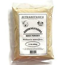 NUTRABOTANICA ASHWAGANDHA POWDER (1 lb (454gm))