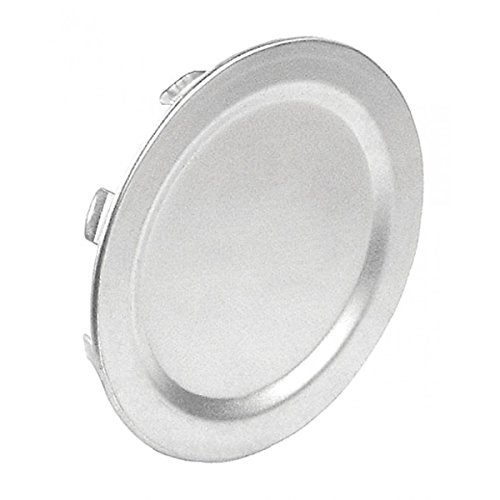 50 Pcs, Steel 1/2 In. Snap In Blank Knockout Seal Inserted In Discontinued, Open Box Knockouts to Protect Exposed Wires