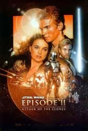 Star Wars Episode 11 Attack Of The Clones Ewan Mcgregor
