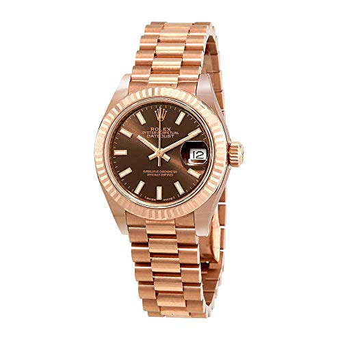 Rolex Lady Datejust Chocolate Dial 18K Everose Gold Automatic Watch 279175CHSP from Rolex