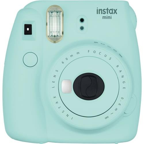 9 - Ice Blue Instant Camera ()