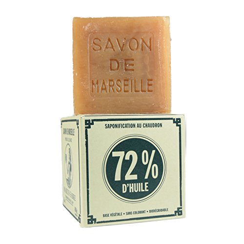 Marius Fabre Palm Oil Marseilles Cube Soap for Laundry 400g 14.1oz