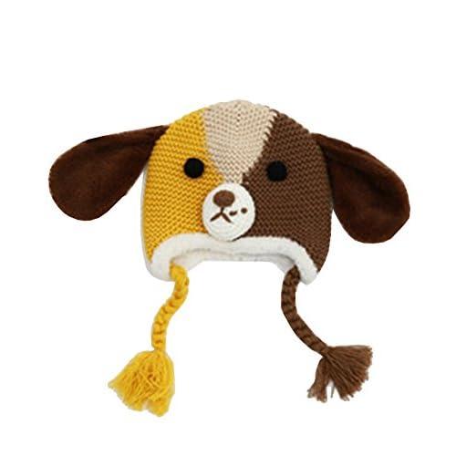 MEYKISS Children s Knitted Hats Baby Kids Animal Knit Hat ... d318d2009d22