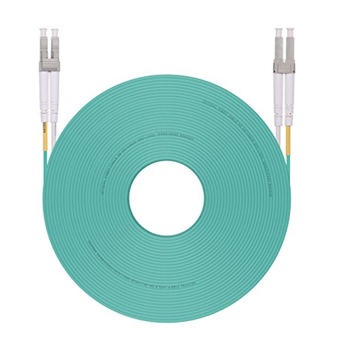 30m LC to LC OM3 Fiber Optic Cable Multimode Duplex 10Gb 50/125um, LSZH, Available 1m - 30m