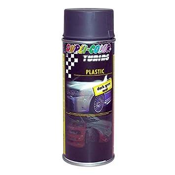 Duplicolor 327278 pintura plástica, color gris oscuro, 400 ml: Amazon.es: Coche y moto