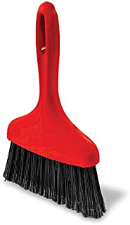 """product image for Libman Commercial 907 Whisk Broom, Polypropylene, 7"""" Wide, Red (Pack of 6)"""