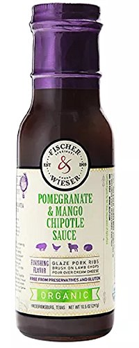 Fischer & Wieser Organic Pomegranate & Mango Chipotle Sauce, 10.5 Ounce (Pack of 1)