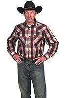 Western Express Men's Cotton Blend Plaid Shirt