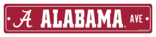 WinCraft NCAA Alabama Crimson Tide Street Sign ()