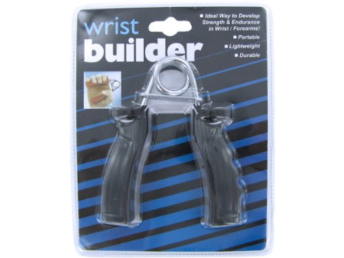 bulk buys Wrist Builder, Black/Silver