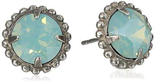 "Sorrelli  ""Pacific Opal"" Simplicity Stud Earrings - Sorrelli Essentials"