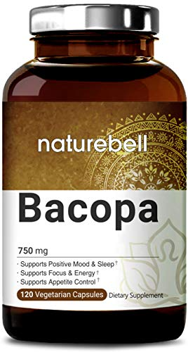 - Organic Bacopa Monnieri 750mg, 120 Veg Capsules, Nootropics for Brain Booster for Enhanced Mental Focus and Memory, Non-GMO, Vegan Friendly and Made in USA