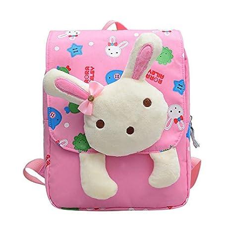 HPADR Mochila Infantil Cartoon Rabbit Bear Kindergarten ...