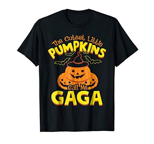 The Cutest Little Pumpkins Call Gaga Halloween T-Shirt
