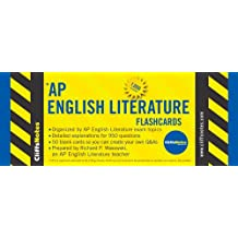 CliffsNotes AP English Literature Flashcards